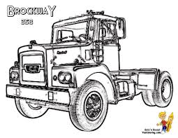 BrockwaY Truck Coloring Picture At YesColoring