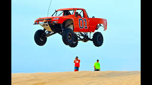 100 Truck Jump Huge At Silver Lake Sand Dunes YouTube