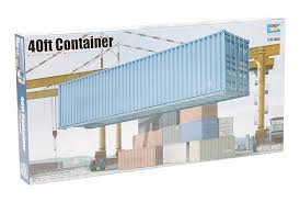 100 Shipping Container Model Amazoncom 135 40ft Kit Kitchen Dining
