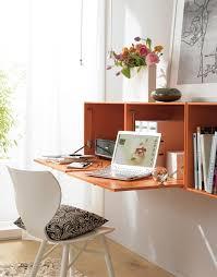 arbeitszimmer hängeschrank als schreibtisch schöner wohnen