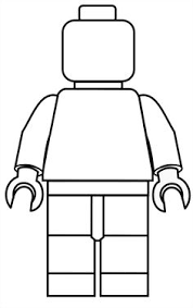 Lego Coloring Pages Minifigure Funycoloring
