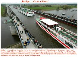 100 Water Bridge Germany Over A River Over A River Even After You
