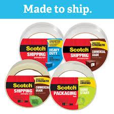 Scotch® Heavy Duty Shipping Packaging Tape 1.88