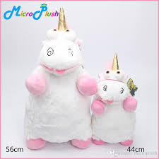 2018 44cm 56cm Despicable Me Minions Unicorn Plush Toy Fluffy Pillow 2 Size Stuffed Dolls For Kids From Microplush 566