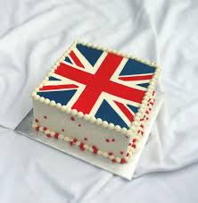 British Flag Cake by The Cake Chic via Flickr