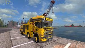 100 Tow Truck Simulator Scania R500 V 11 FS17 Mods
