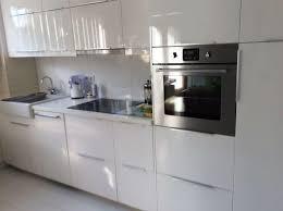 küche weiß hochglanz ideen küche grau weiß brigitte küchen