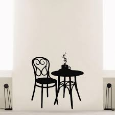US $20.8 |2015 Free Shipping Coffee Shop Vinyl Wall Decal Coffee Tea Cafe  Restaurant Wall Decoration Table Chair Mural Art Wall Sticker-in Wall ... Flash Fniture 36 In Round Natural Laminate Table Set With Cosco Vinyl Folding Chairs Game Poker Teal Shacos Placemats For Dinner Of 6 Pvc Woven Mats Wipe Clean Heat Resistant6 Green Bamboo Grid Us 208 2015 Free Shipping Coffee Shop Wall Decal Tea Cafe Restaurant Decoration Chair Mural Art Stickerin Minimalist And Cool Scdinavian Ding Modern Room Small White Big Material Faux Detail Feedback Questions About 24 Kitchen Height Tables For Tray Cloth Foldable Combi Roller Venetian Blinds Curtains Carpet Roll Vinyl Sutton 3 Piece Spacesaver Bistro Glass Top And Padded