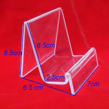 Wholesale Wallet Holder Camera Display Rack Stand Acrylic Material