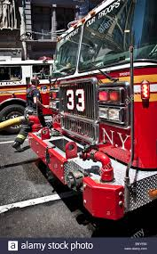 100 Fdny Fire Trucks FDNY Trucks At The Scene Of A Building Fire Stock Photo