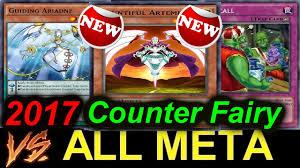 Top Ten Yugioh Decks 2017 by 2017 Counter Fairy Vs All Meta Decks New Counter Trap Youtube