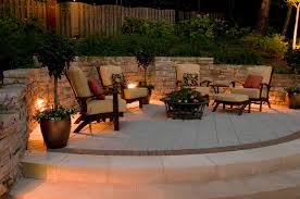 outdoor lighting perspectives recommends geostone retaining