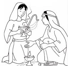Parable Of The 10 Virgins Coloring Pages