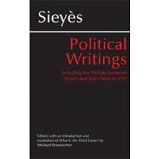 Sieyes Political Writings