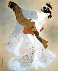 This Ukiyo E Was Painted In 1934 By One Of My Favourite Japanese Painter The Famous Ito Shinsui 1898 1972