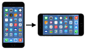 The iPhone 6 Plus Home Screen Rotation Problem