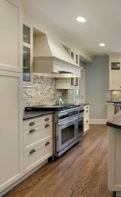 White Cabinets Dark Countertop Backsplash by Small Kitchen Ideas White Ice Granite Countertop White Kitchen