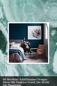 99 herrliche schlafzimmer designs ideen mit dunklen wand