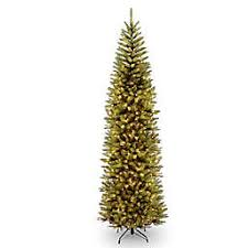 National Tree Company Kingswood Fir Pencil Pre Lit Christmas With Clear Lights