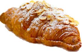 Freshly Baked Almond Croissant