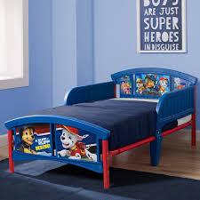 Delta Children Nick Jr PAW Patrol Plastic Toddler Bed & Reviews