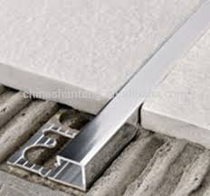 aluminium tile trim profile tile carpet transition trim metal tile