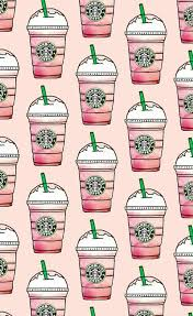 Patterns Pink Starbucks Wallpapers Favim 4516507jpeg 610x996