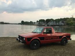 1980 Volkswagen Sport Truck (Caddy) For Sale In New Bedford, Mass