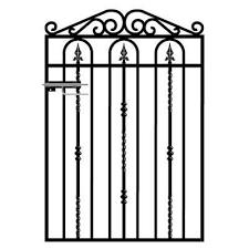 Divine Galvanised Metal Garden Gates For Garden Gate