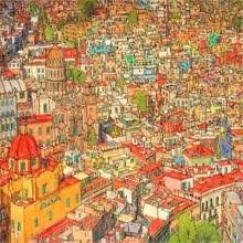 Fantastic Cities Coloring Book Steve Mcdonald
