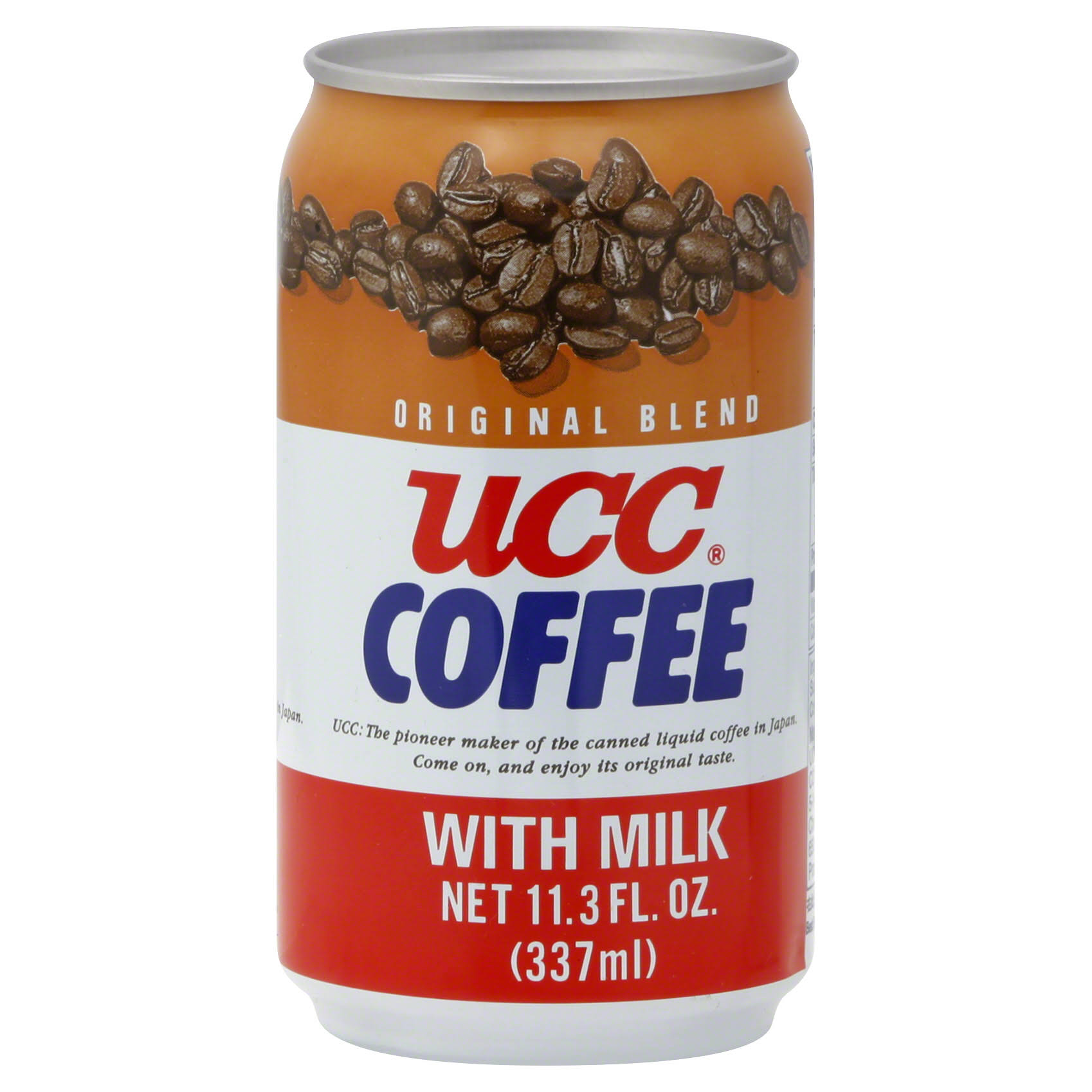 Ucc Original Coffee - with Milk, 11.3oz