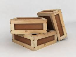 Stacked Wooden Crates For Warehouse 3d Model Low Poly Max Obj 3ds Mtl Mat 2