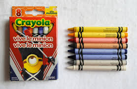 8 count crayola minion crayons what s inside the box jenny s