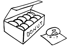 Food Coloring Pages Donuts