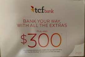 TCF $300 Bank Promotion - Bank Deal Guy Roundup Of Bank Bonuses 750 At Huntington 200 From Chase Total Checking Coupon Code 100 And Account Review Expired Targeting Some Ink Cardholders With 300 Brighton Park Community Bonus 300 Promotion Palisades Credit Union Referral 50 New Is It A Trap Offering Just To Open Checking Promo Codes 350 500 625 Business Get With 600 And Savings Accounts Handcurated List The Best Sign Up In 2019 Promotions Virginia
