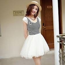 White Summer Dresses For Juniors Strapsclub Black And Casual