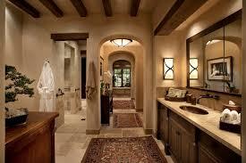 Rustic Bathroom Rug Sets by Phoenix Bathroom Rug Ideas Mediterranean With Tile Wainscoting