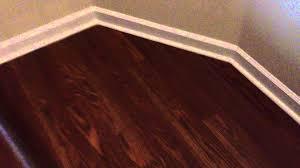 laminate flooring with white quarter round youtube