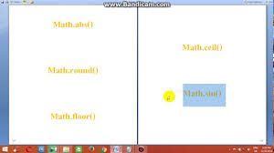 Java Mathceil To Int by Vital Java Math Functions Icse 10th 3012sa06 Youtube