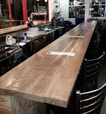 Vintage Timberworks The Post And Beam Pub Table Seen Here At Chattanooga Brewing 134 X 514 White Oak Bar Top Rail B005 Live Edge First Major Wood Working Project Album On Longleaf Lumber Reclaimed Bartops Historic Timber Tops Plank Wine Barrel With Hardwood Lighting Fniture Make Coffee Ice Chest Half Rack For Affordable Custom Cabinets Showroom Kitchen Breakfast Island Design Fabulous Granite Stain Steel Foot Rest