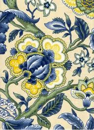 Jacobean Floral Curtain Fabric by Imperial Dress Porcelain Over At Housefabric Wow If I Had The