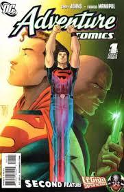 Cover Of Adventure Comics 504 Vol 2 1 Art By Francis Manapul