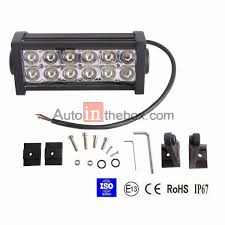 42 99 2013 7 5 inch 36w led light bar flood light spot light work