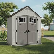 suncast 7x4 blow molded resin storage shed bms7400 do it best