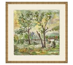 Pottery Barn Metal Wall Decor by Behind The Trees Wall Art Pottery Barn