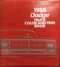 1988 Dodge Truck Color & Upholstery Dealer Album Original Joe_fenn 1988 Dodge Power Ram Specs Photos Modification Info At W350 Dually Cummins Trucks Old Pinterest Dodge Ram For Sale 3500 Youtube Ram 150 Overview Cargurus 4x4 Ragtop 1989 Dakota Convertible 1990 Dw Truck Classics Sale On Autotrader Beautiful Lmc 7th And Pattison 50 Pickup Public Surplus Auction 939704 W150 Pumping Brake Fluid And Moving It