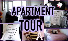 My First Apartment Tour One Bedroom Home Decor Ideas With Regarding Inspire