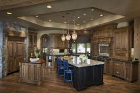 Rustic Style Kitchen Tasty Fireplace Ideas By Decorating