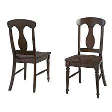 Home Styles Espresso Bermuda Dining Chair Pair