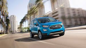 100 Small Utility Trucks 2018 Ford EcoSport Review Ratings Edmunds